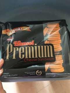 Premium cheese sandwich biscuits 🍪