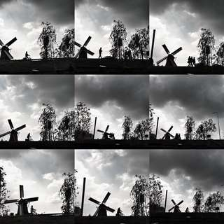"""Personal Work - """"Windmill Collage"""""""