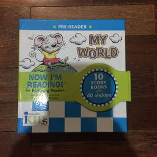 "Pre-loved ""my world"" now im reading pre-readers"