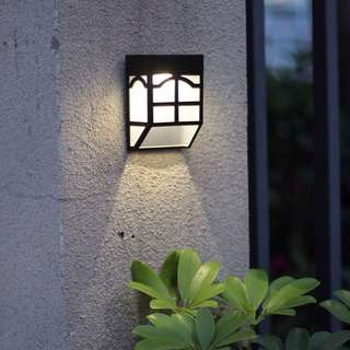 Japanese style Solar powered outdoor gardening light
