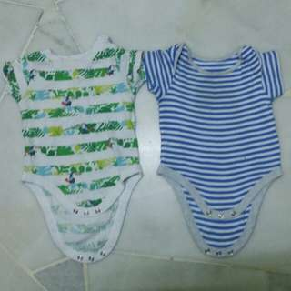 Mothercare Rompers up to 3m -100% cotton