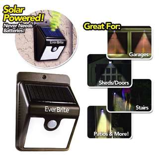 Solar Light easy use stick and peal outdoor