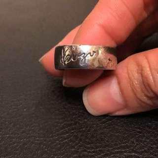 Kenzo 925純銀戒指百分百正品