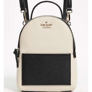 SALE Kate Spade Jackson Street Merry Mini Backpack Tusk Black