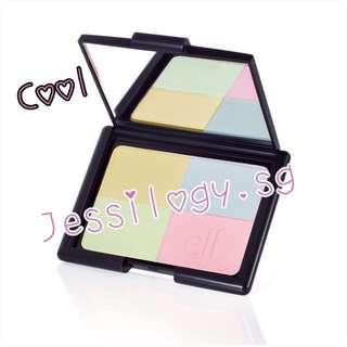 INSTOCK e.l.f. Studio Tone Correcting Powder / ELF Cosmetics / ELF Cosmetics Tone Correcting Powder in COOL