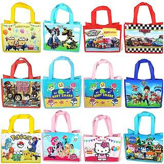 1for$1.20 12for$14 My Little Pony Minions Pokemon Paw Patrol Party/Goodie Bag