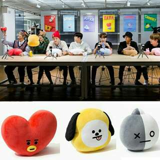 BT21 PLUSH HIGH QUALITY (NON OFFICIAL)
