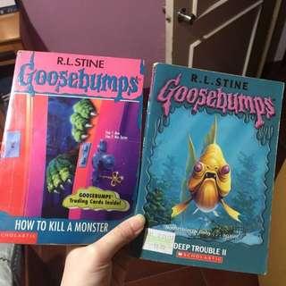 R.L. Stine Goosebumps