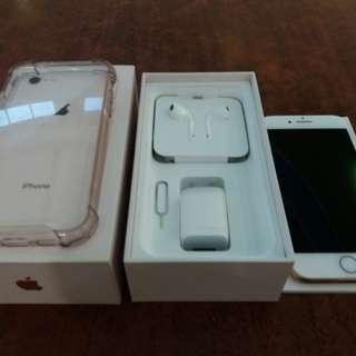 iPhone 8 64gb Gold Factory Unlocked Complete Package