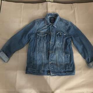 Jaket Jeans Pull N Bear Original