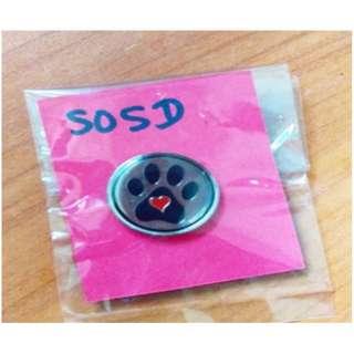 SOSD Collar Pin