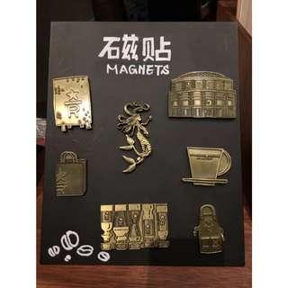 Starbucks Shanghai Reserve Roastery Magnet Set