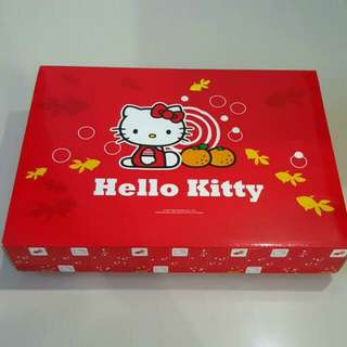 (FIXED PRICE) Brand New Authentic Hello Kitty Mandarin Orange Gift Box