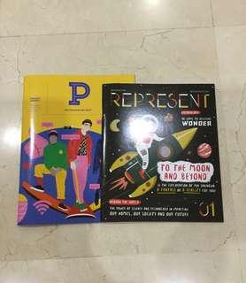 BN Present Perfect & Represent Magazines
