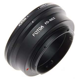 Canon FD Mount to Sony E Mount Camera Pro Adapter (BRAND NEW)
