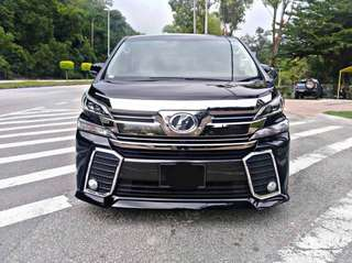 SAMBUNG BAYAR/CONTINUE LOAN  VELLFIRE 2.5 AUTO YEAR 2015/2018 MONTHLY RM 3630 BALANCE 7 YEARS ROADTAX APRIL 2019 POWER DOORS LEATHER SEATS  DP KLIK wasap.my/60133524312/newvellfire