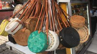 *PRE ORDER CLOSED*Handmade Rattan Sling round Bag