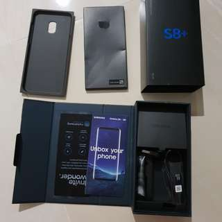 🚚 Samsung S8+ box only