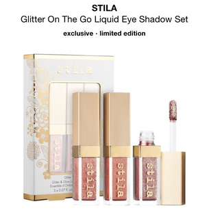 Glitter On The Go Liquid Eye Shadow Set