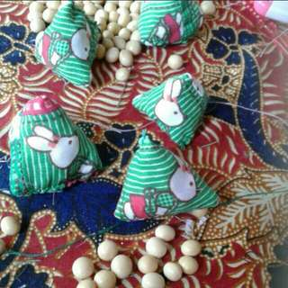 Rabbits and strawberries in green field Five stones  Assorted designs fabrics and prints  As featured in Northeast zone Vibes magazine, Zaobao newspapers    Children Party Favours Five Stones old School Kampong Game   For