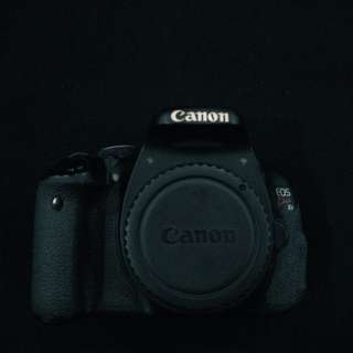 Canon 600D (2nd Hand, Body Only)