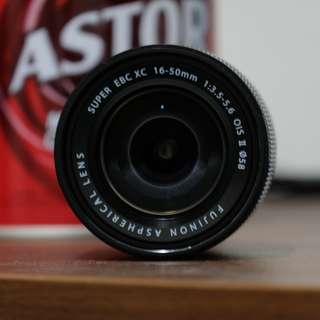 Fujifilm Fujinon XC 16 50 OIS II Baru Hitam New