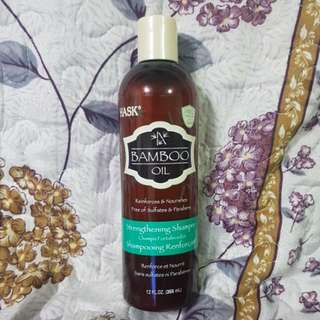 Hask Bamboo Oil Strengthening Shampoo