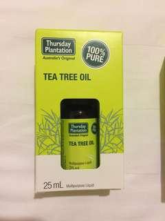 Tea Tree Oil (Thursday Plantation 25ml)