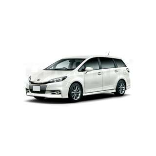 Toyota Wish 2nd/3rd Gen 6PC magnetic shades