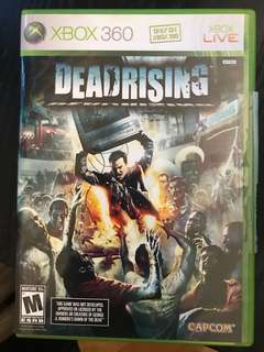 Xbox 360 Game- Dead rising