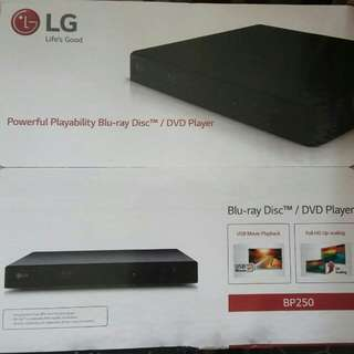 LG BP250 100%新 Blue Ray DVD 藍光機
