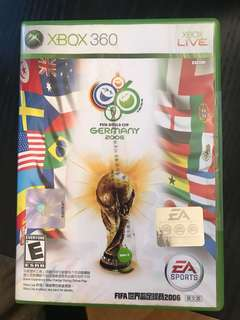 Xbox 360 Game- FIFA World Cup Germany 2006