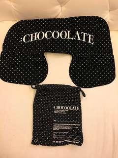 Chocolate 吹氣頸枕