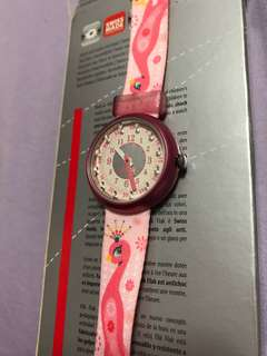 Swatch Watch - pink, new