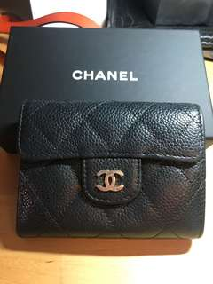 Chanel small Wallet 金扣