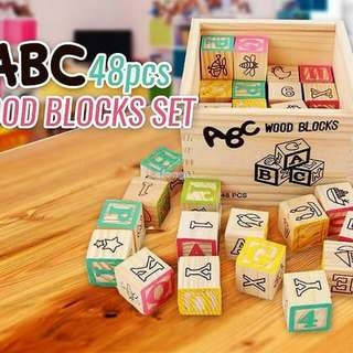 Wood Block Abc