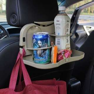 Storage Meal & Drink Backseat
