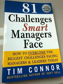 Challenges smart managers face book #Bajet20