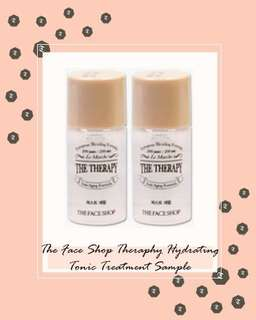 The Face Shop Therapy Hydrating Tonic Treatment