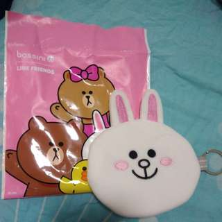 "Line Friends 5"" coin purse"