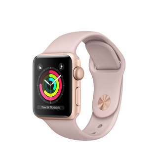 IWATCH SERIES 3 GPS GOLDEN ROSE 38MM