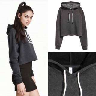 Divided by H&M / HnM Crop Hoodie Sweater