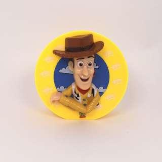 •絕版•台灣便利店 反斗奇兵 Toy Story 胡迪磁石膠紙座
