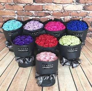 韓式手工肥皂花束20朵