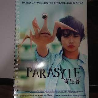 Parasyte Notebook