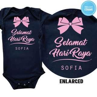 Selamat Hari Raya 2018 Baby Romper
