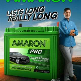 AMARON car battery Delivery 24jam