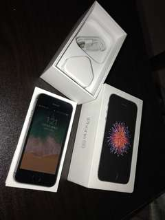 iPhone Se  64g 冇花冇崩99.9% 有單連盒 已過保養