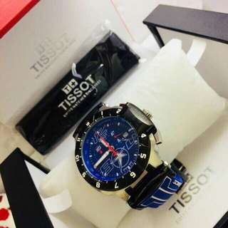 Tissot Mens Nicky Hayden T-Race Limited Edition Analog Display Swiss Quartz Blue Watch.