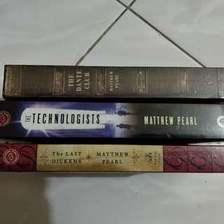 Matthew Pearl Books